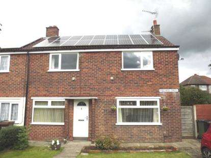 3 Bedrooms Semi Detached House for sale in Foliage Crescent, Brinnington, Stockport, Cheshire