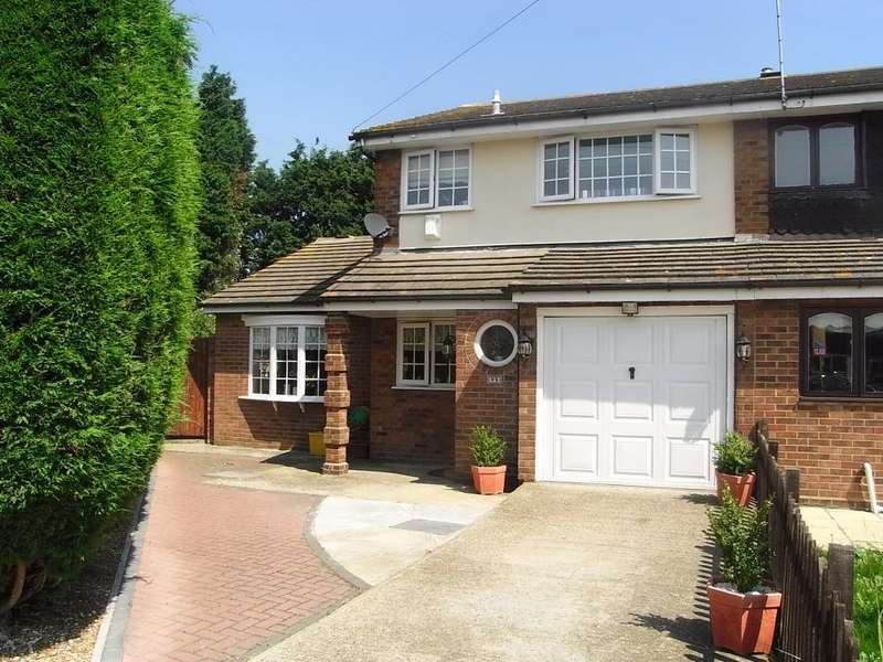 3 Bedrooms End Of Terrace House for sale in Wilmslowe, Canvey Island, SS8
