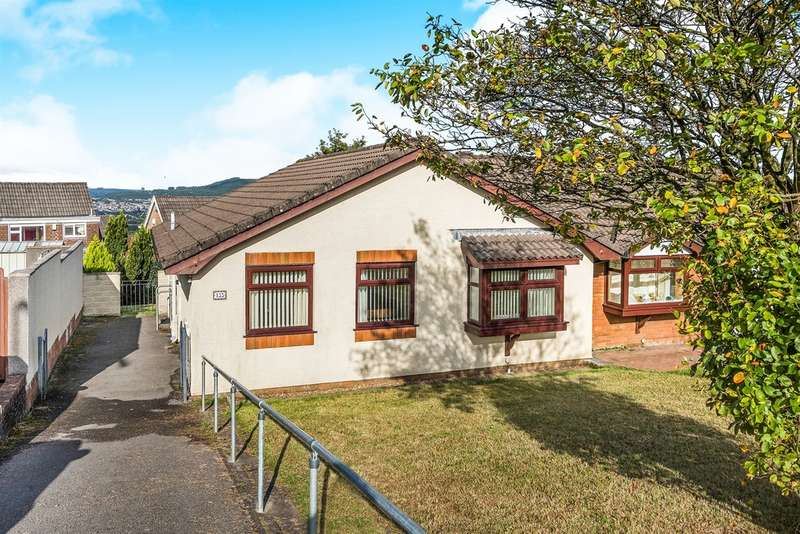 3 Bedrooms Semi Detached Bungalow for sale in Mackworth Drive, Cimla, Neath