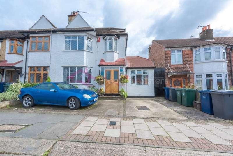4 Bedrooms Semi Detached House for sale in Hale Grove Gardens, Mill Hill, NW7