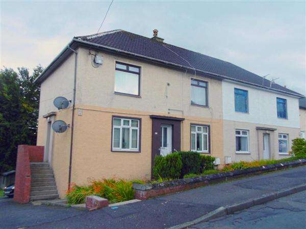 2 Bedrooms Apartment Flat for sale in Broom Crescent, Ochiltree