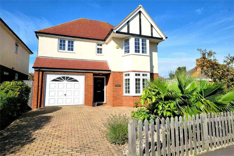 4 Bedrooms Detached House for sale in Queens Road, Tankerton, WHITSTABLE, Kent