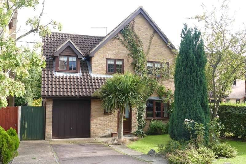 4 Bedrooms Detached House for sale in Farnsfield Close, Lower Earley, Reading, RG6