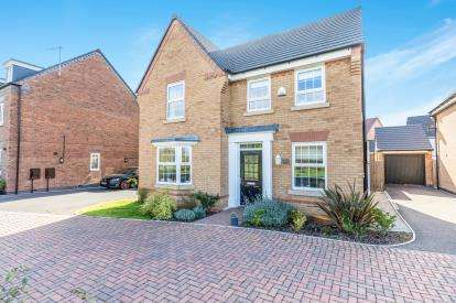 4 Bedrooms Detached House for sale in Chalmers Close, East Worcester, Worcester, Worcestershire