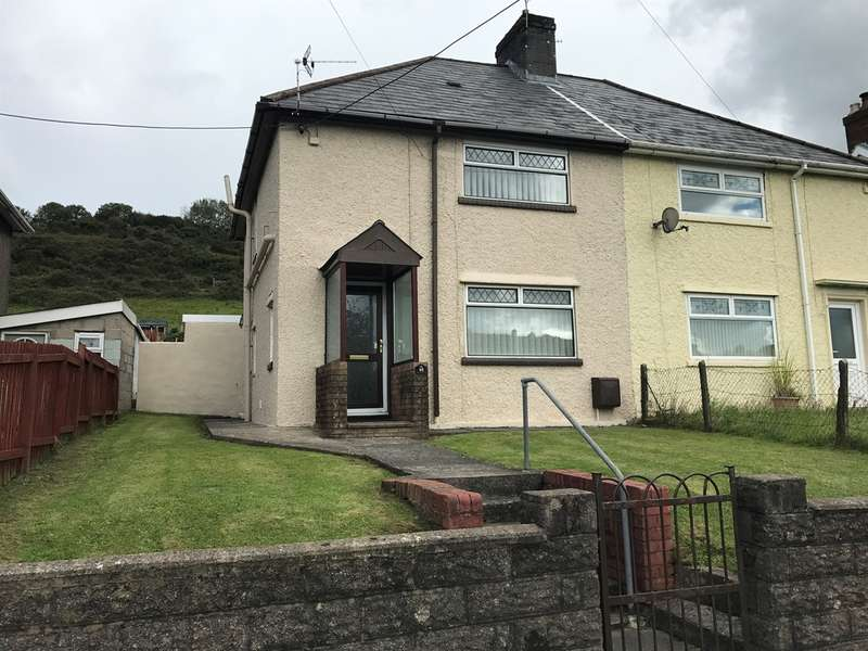 3 Bedrooms Semi Detached House for sale in Tylchawen Terrace, Tonyrefail, Porth