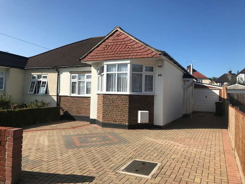 2 Bedrooms Semi Detached Bungalow for sale in Wyncote Way, South Croydon, CR2 8NH