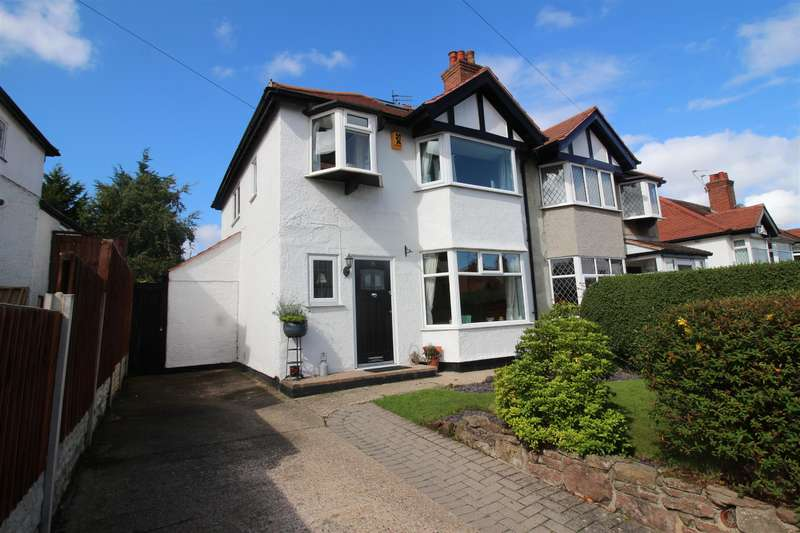 3 Bedrooms Semi Detached House for sale in Pine View Drive, Heswall, Wirral, CH61 6UH