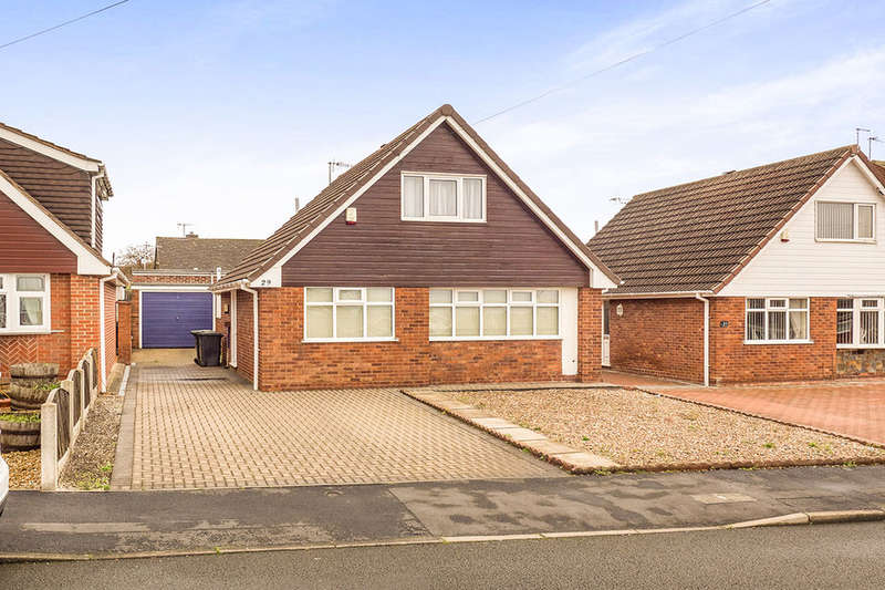 2 Bedrooms Detached Bungalow for sale in Peters Close, Newthorpe, Nottingham, NG16