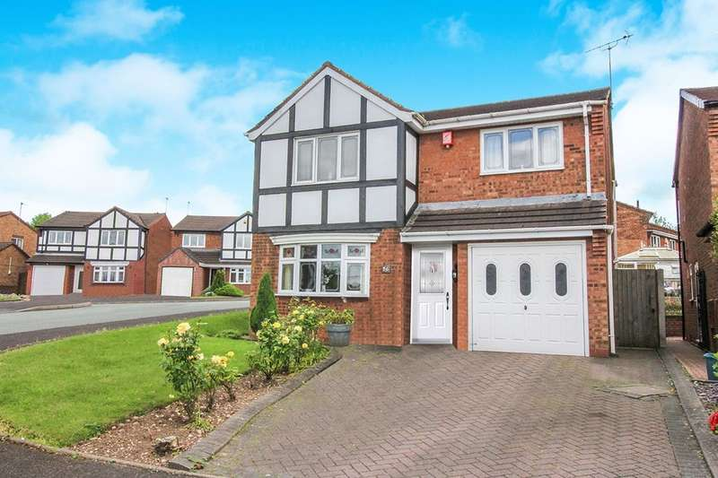 3 Bedrooms Detached House for sale in Truro Place, Heath Hayes, Cannock, WS12