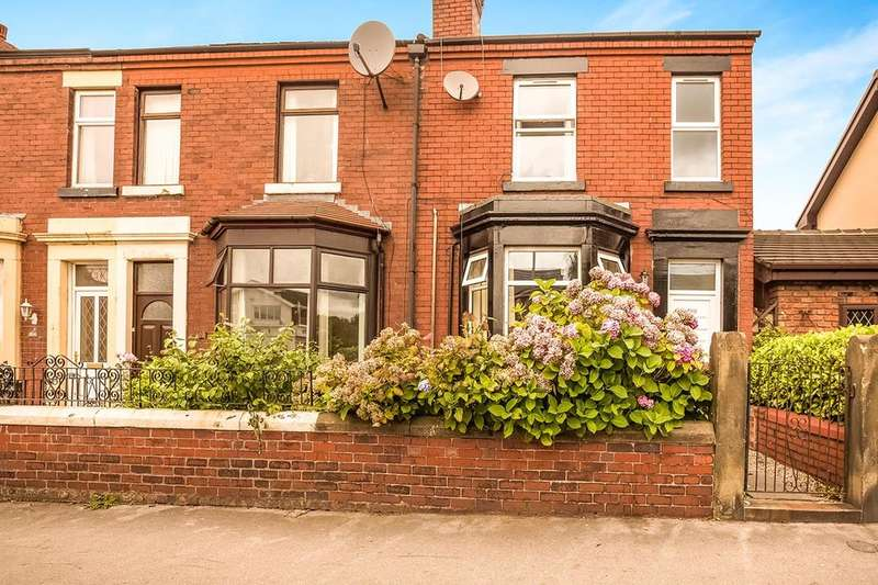 2 Bedrooms Terraced House for sale in Moor Road, Chorley, PR7
