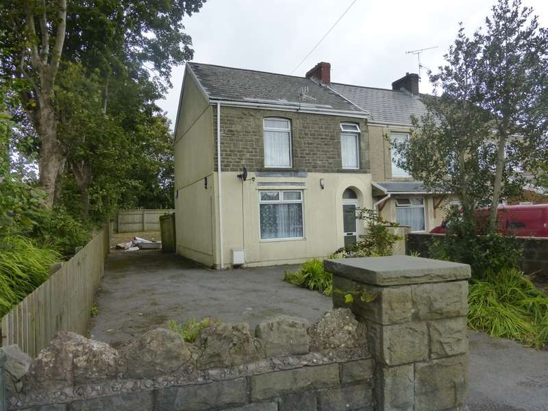 2 Bedrooms End Of Terrace House for sale in Pentregethin Road, Ravenhill, SWANSEA