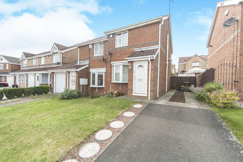 2 Bedrooms Semi Detached House for sale in Daleside, Sacriston, Durham, DH7