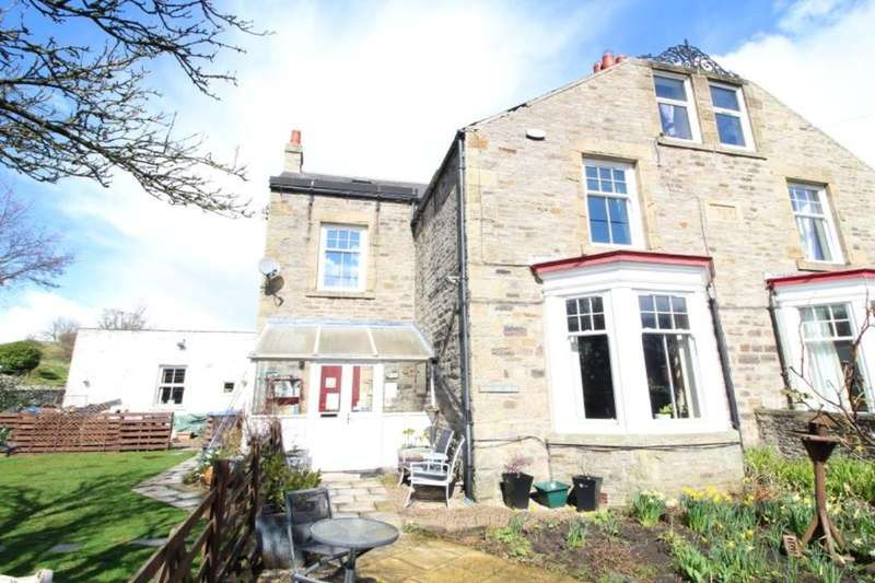 6 Bedrooms Semi Detached House for sale in Rose Terrace, Stanhope, Bishop Auckland, DL13