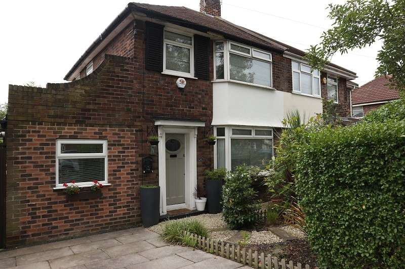 3 Bedrooms Semi Detached House for sale in Hillfoot Avenue, Liverpool, Merseyside. L25 0PE