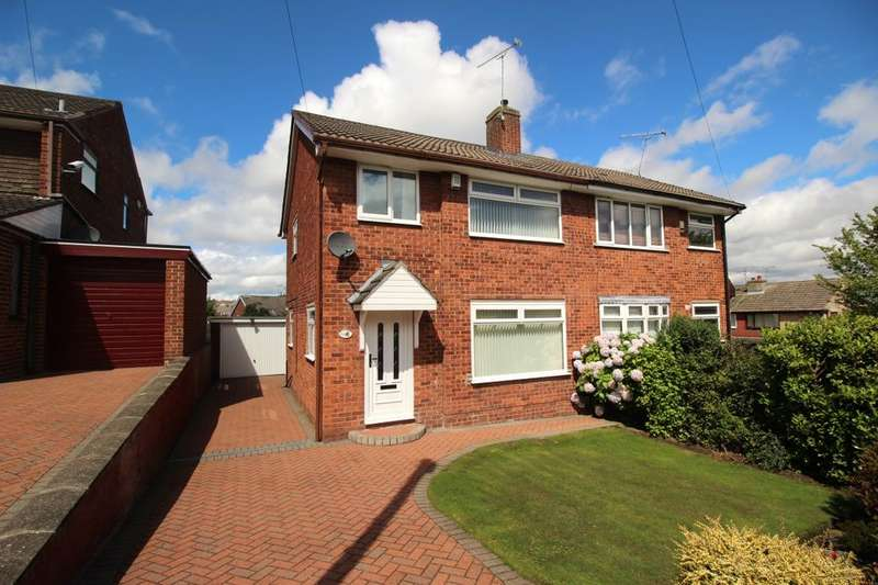 3 Bedrooms Semi Detached House for sale in Meadow Drive, Chapeltown, Sheffield, S35