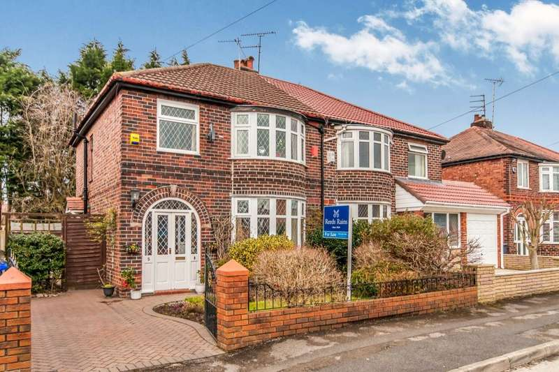 3 Bedrooms Semi Detached House for sale in Moor Park Road, Didsbury , Manchester, M20