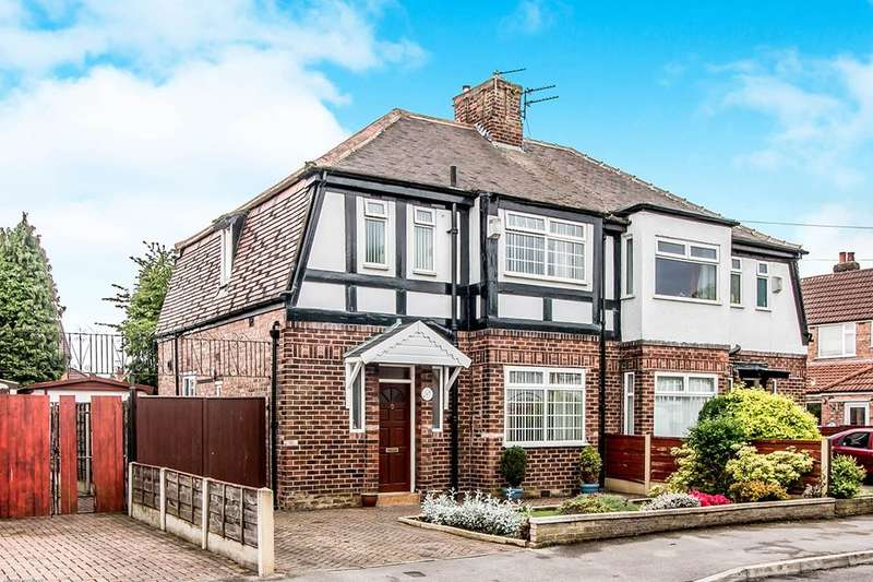 3 Bedrooms Semi Detached House for sale in Berwick Avenue, Heaton Mersey , Stockport, SK4