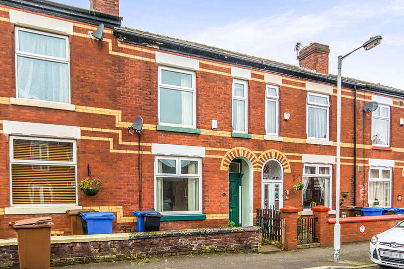 3 Bedrooms Terraced House for sale in Cunliffe Street, Stockport, SK3