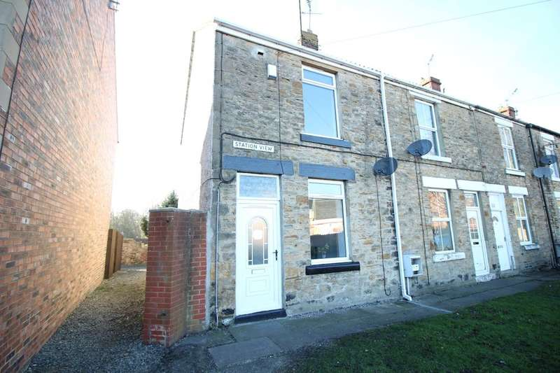 2 Bedrooms Terraced House for rent in Station View, West Auckland, Bishop Auckland, DL14