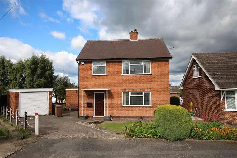 3 Bedrooms Detached House for sale in Poplar Way, Kirk Hallam