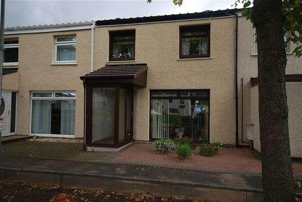 3 Bedrooms Terraced House for sale in Garallan, Kilwinning
