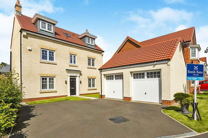 4 Bedrooms Detached House for sale in Abbey Green, Spennymoor, DL16