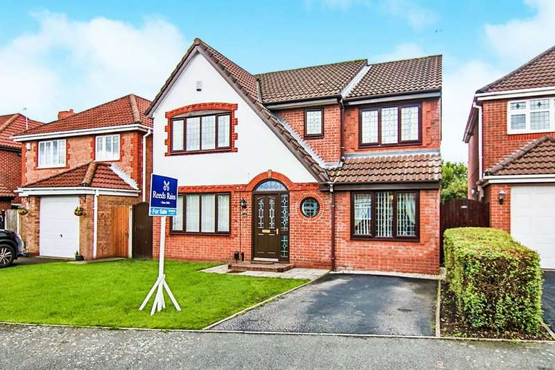 4 Bedrooms Detached House for sale in Templeton Crescent, Liverpool, L12