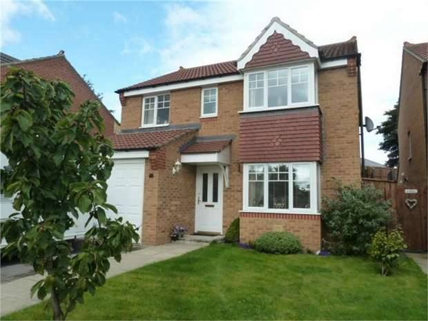 4 Bedrooms Detached House for sale in St Catherines Way, Bishop Auckland, Durham