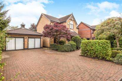 4 Bedrooms Detached House for sale in Valentines Meadow, Cottam, Preston, Lancashire, PR4
