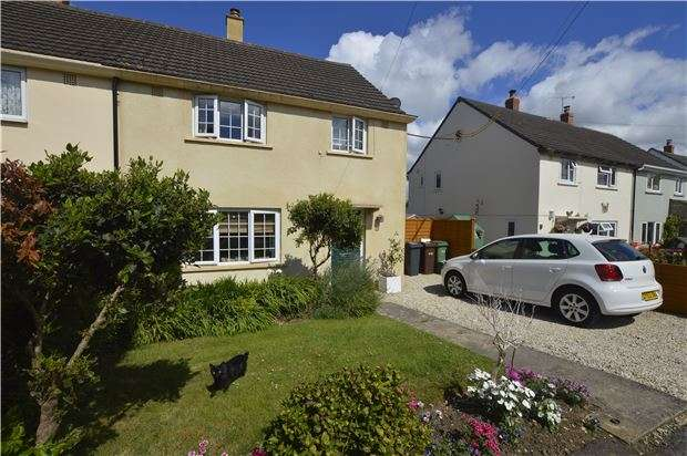 3 Bedrooms Semi Detached House for sale in 14 Moseley Road, Cashes Green, Stroud, Gloucestershire, GL5 4LP