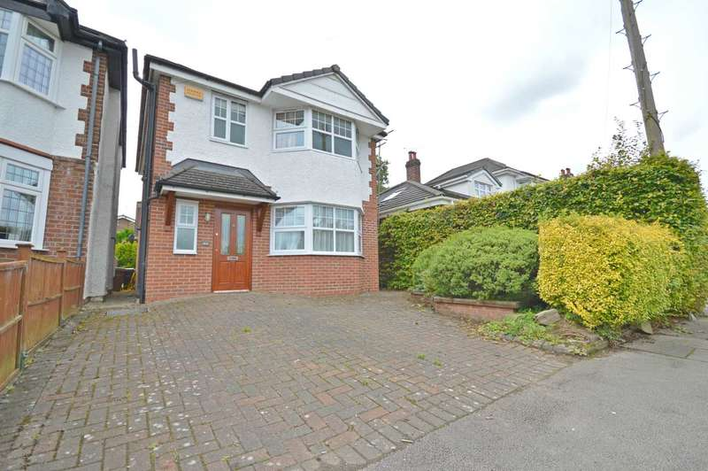 3 Bedrooms Detached House for sale in Highfield Road, Cheadle Hulme