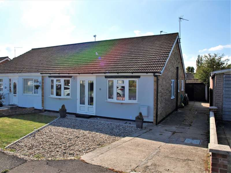 3 Bedrooms Semi Detached Bungalow for sale in Thornberry Avenue, Weeley
