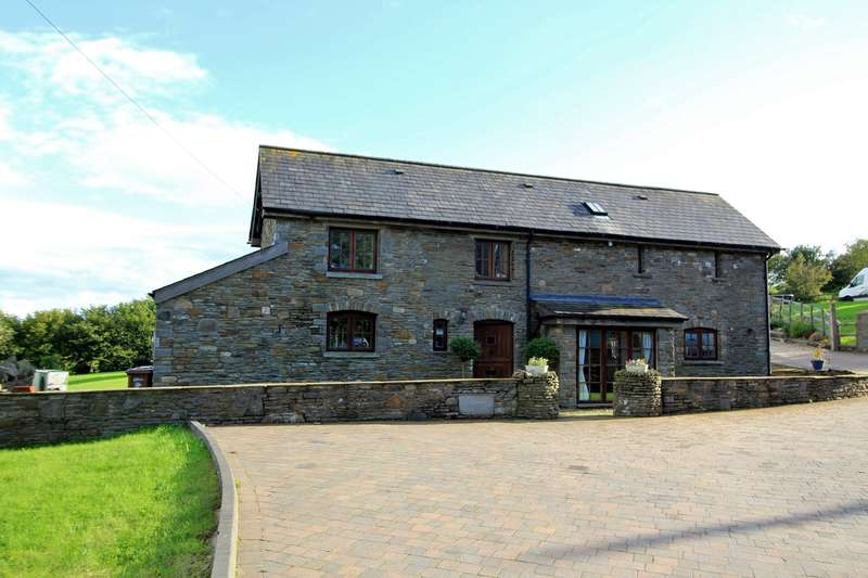 3 Bedrooms Barn Conversion Character Property for sale in Argoed Uchaf, Sunnyview, Argoed, BLACKWOOD, NP12