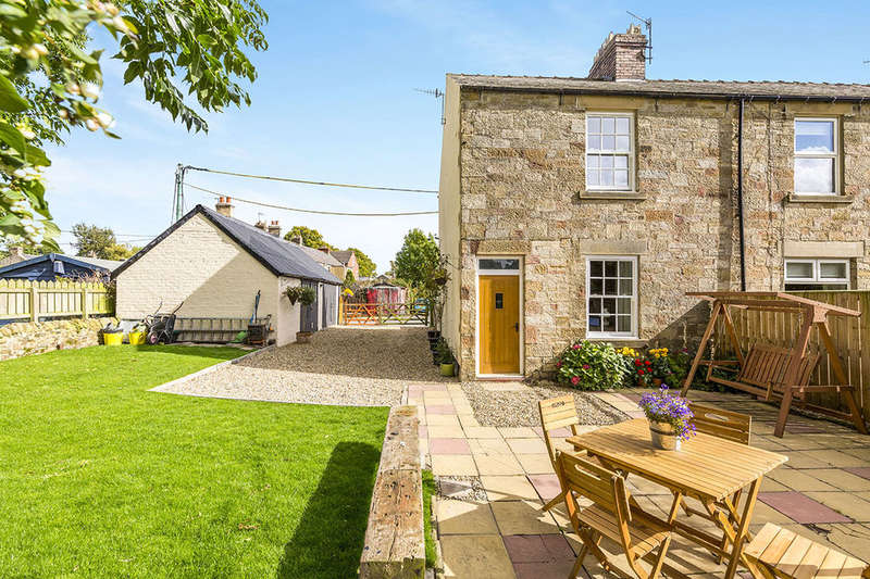 2 Bedrooms Terraced House for sale in Glebe View, Frosterley, Bishop Auckland, DL13