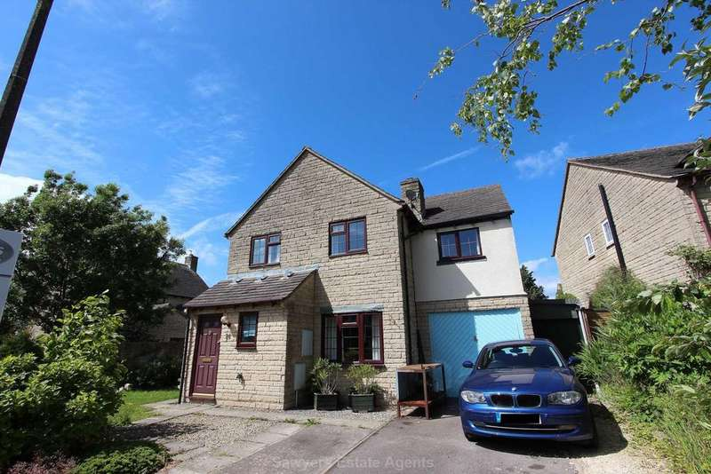 4 Bedrooms Detached House for sale in Chasewood Corner, Chalford