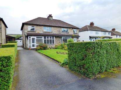 3 Bedrooms Semi Detached House for sale in Horderns Park Road, Chapel-en-le-Frith, High Peak