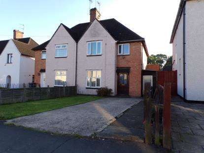 3 Bedrooms Semi Detached House for sale in Overpark Avenue, Braunstone, Leicester, Leicestershire