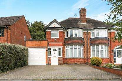 3 Bedrooms Semi Detached House for sale in Butler Road, Solihull, West Midlands, Birmingham