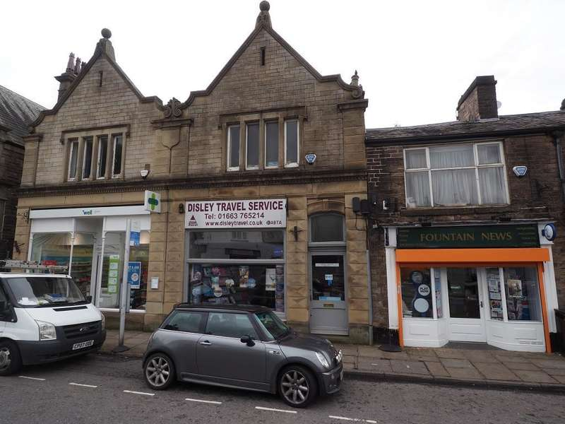 Commercial Property for sale in Fountain Square, Disley, Stockport, Cheshire, SK12 2AB