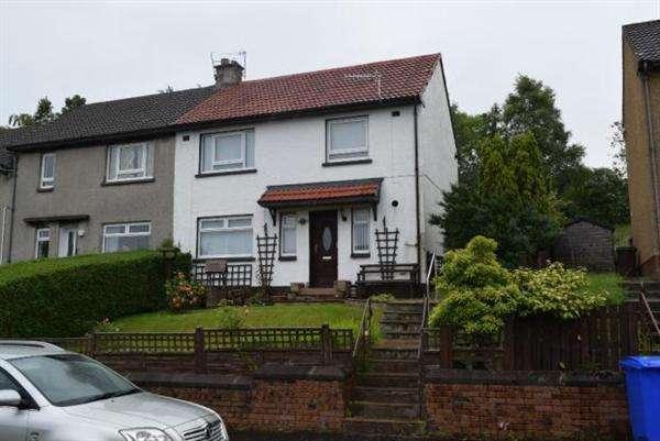 3 Bedrooms Semi Detached House for sale in Eriff Road, Dalmellington
