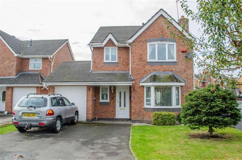 3 Bedrooms Detached House for sale in Cherry Dale Road, Broughton, Flintshire, Chester