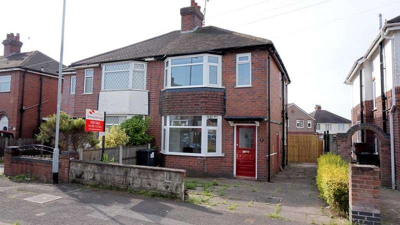 2 Bedrooms Semi Detached House for sale in Cloverdale Road, Cross Heath, Newcastle