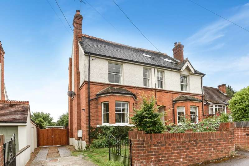 3 Bedrooms Semi Detached House for sale in Sedgewell Road, Sonning Common, Reading, RG4