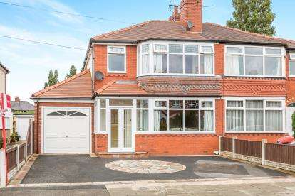 3 Bedrooms Semi Detached House for sale in Crawford Avenue, Leyland, Preston, Lancashire