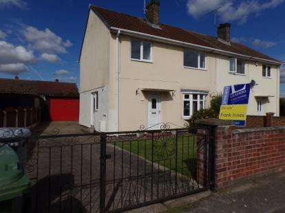 3 Bedrooms Semi Detached House for sale in Oxford Close, Rainworth, Mansfield, Nottinghamshire