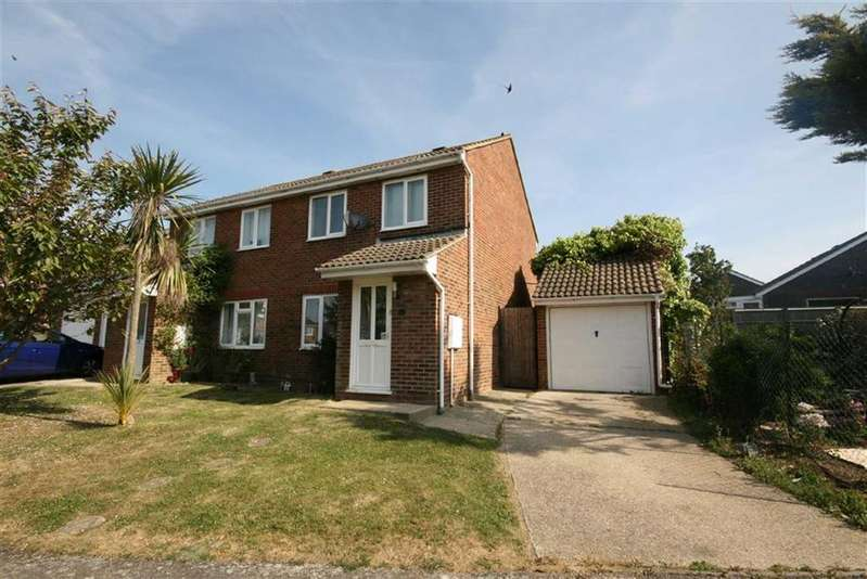 3 Bedrooms Semi Detached House for sale in Swannee Close, Peacehaven