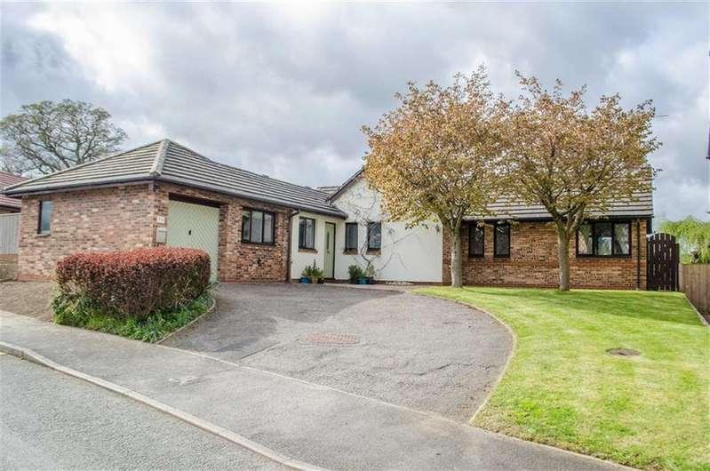 4 Bedrooms Detached Bungalow for sale in Llys Derwen, Higher Kinnerton, Chester