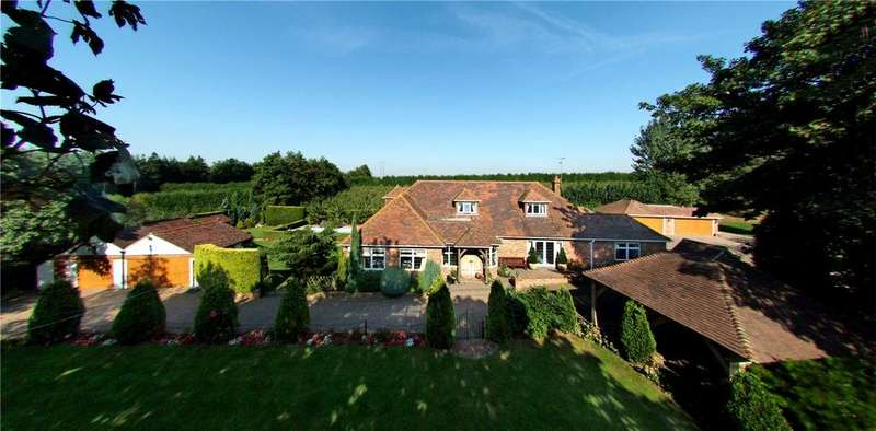 5 Bedrooms Detached House for sale in Old House Lane, Hartlip, Sittingbourne, Kent