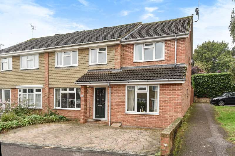 4 Bedrooms Semi Detached House for sale in Masefield, Hitchin, SG4