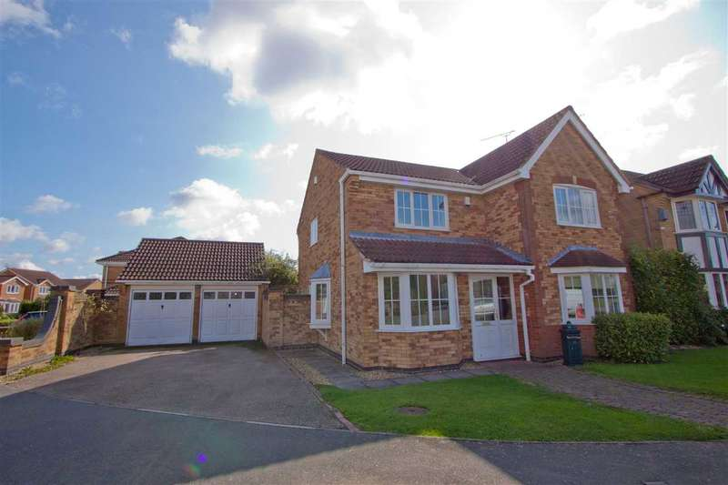 4 Bedrooms Detached House for sale in Pendragon Way, Leicester Forest East, Leicester